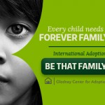 "Web Banner Mobile, ""Be That Family,"" Gladney Campaign"